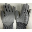 Hand gloves high cut resistance PU coated P513G