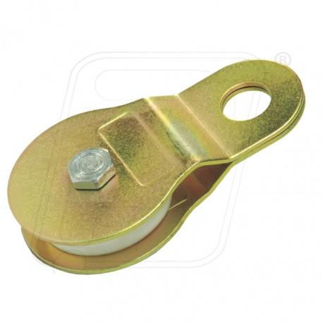 Aluminium Single Pully Single Side Attachment