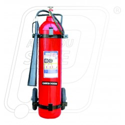 Fire Extinguisher CO2 type 9 Kg trolly mounted Safety Fire
