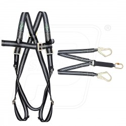 Flame Resistance Harness with Energy Absorbing with hook Karam