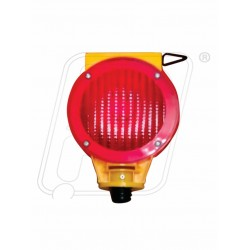 Traffic Cone Solar Warning Light