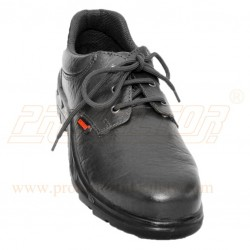 Shoes Delux Mid Steel Plate FS-05 Black Karam CE