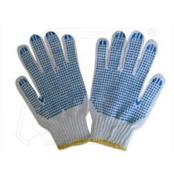 Hand Gloves Dotted Single Imported