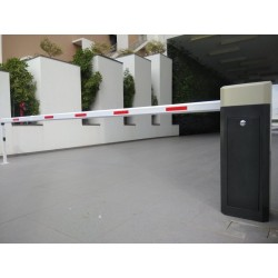 Automatic Boom Barrier with LED, RFID & Loop Detector
