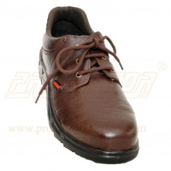 Shoes Dual Density Composite Toe Cap FS05 Brown Karam