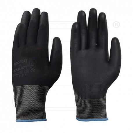 Hand gloves PU coated HS22 Karam