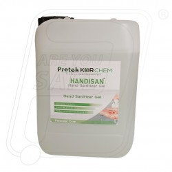 Quick dry Hand Sanitizer gel.67% IPA based 5L