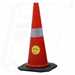 Cone 750 mm Fresh 2KG Roto Mould Red
