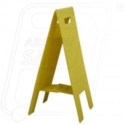 Multipurpose Caution Floor Stand Clear