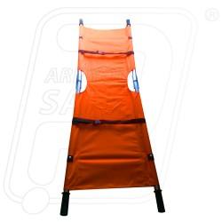 Stretcher first aid double fold orange