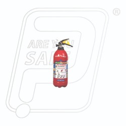 Fire Extinguisher ABC 1 KG Safety First