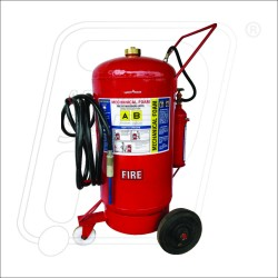 Fire Ext. M.Foam type 125 Ltr outside cartridge Safety First