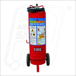 Fire extinguisher water CO2 Cartridge type45 Ltr Safety First
