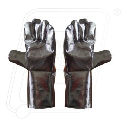 Aluminized Gloves 2 layer commercial