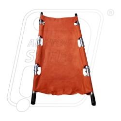 Stretcher first aid four fold aluminium
