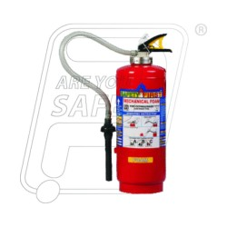Fire Extinguisher mechanical foam type 9 Ltr.(S.P.) Safety First