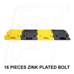 Speed breaker plastic 250 X 350 X 50 mm with installation Pioneer