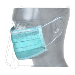 Mask Non Woven 3 Ply with Nose Clip