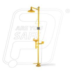 Safety shower complete with eye wash Udyogi 6250 GI