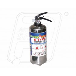 Fire Extinguisher 9 KG K Type Stainless Steel