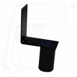 Convex mirror wall bracket 600 mm