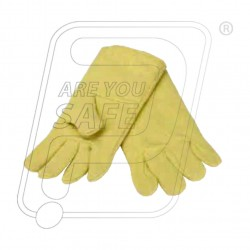 High Temperature full para aramid hand gloves 14""