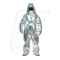 Fire Aluminized Proximity suit (4 Layers) Commercial Grade IM