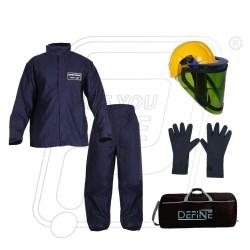 Electrical ARC flash suit 8 Cal/Cm² Define