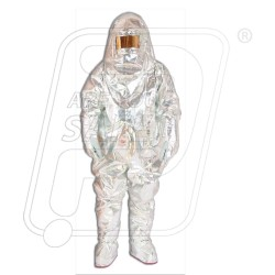 Aluminised Molten Metal Suit 3 Layer