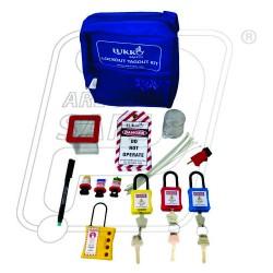 OSHA Basic LOTO Kit MCB, Padlock & Hasp K49