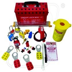 OSHA Group LOTO Box Electrical Kit