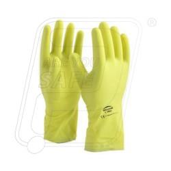Hand Gloves Rubber with flock line L 1520 Mallcom