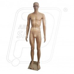 Full body male mannequin Brown