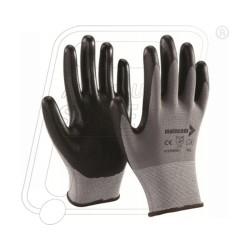 Hand gloves nitrile coated foam finish p35nbd mallcom