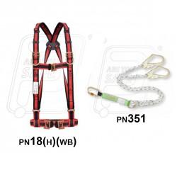 Belt PN18 (H) (WB)(351) with energy absorbed KARAM)