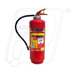 Fire Extinguisher DCP type 9 Kg cartridge Safety First
