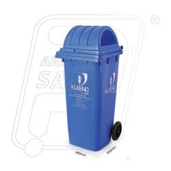 Wheel Dust Bin With Dome Lid 120 Litters