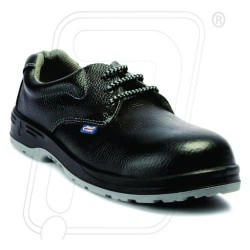 Safety shoes dual density black & Gray color AC-1143 Allen Cooper