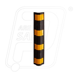 Corner Guard Rounded Rubber 100 X 100 X 20 X 800 MM