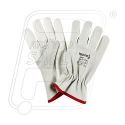 Hand gloves leather driving D 662 Mallcom