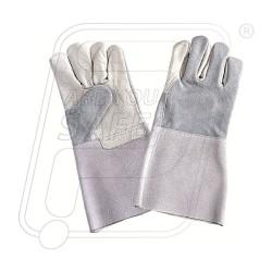 Hand gloves leather welder F 234 Mallcom