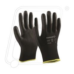 Hand gloves PU coated P 513 B Mallcom