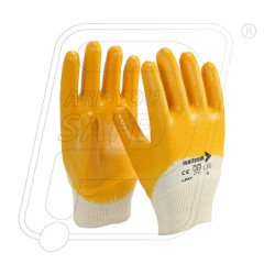 Hand gloves latex coated LPKY Mallcom
