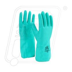 Hand gloves nitrile with flock lined NF 153G Mallcom