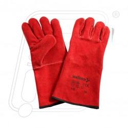 Hand gloves leather welder F 437 Mallcom