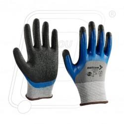 Hand gloves double deep nitrile P35NHK Mallcom