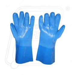 Hand gloves PVC Supported Atlas 35 CM