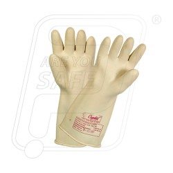 Hand gloves electrical 33000 volt WP 7500 volt
