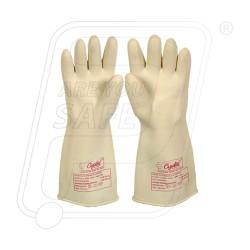 Hand gloves electrical 15 KV crystal
