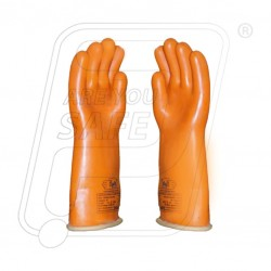 Hand gloves electrical 40000 volt WP 36000 volt Class IV